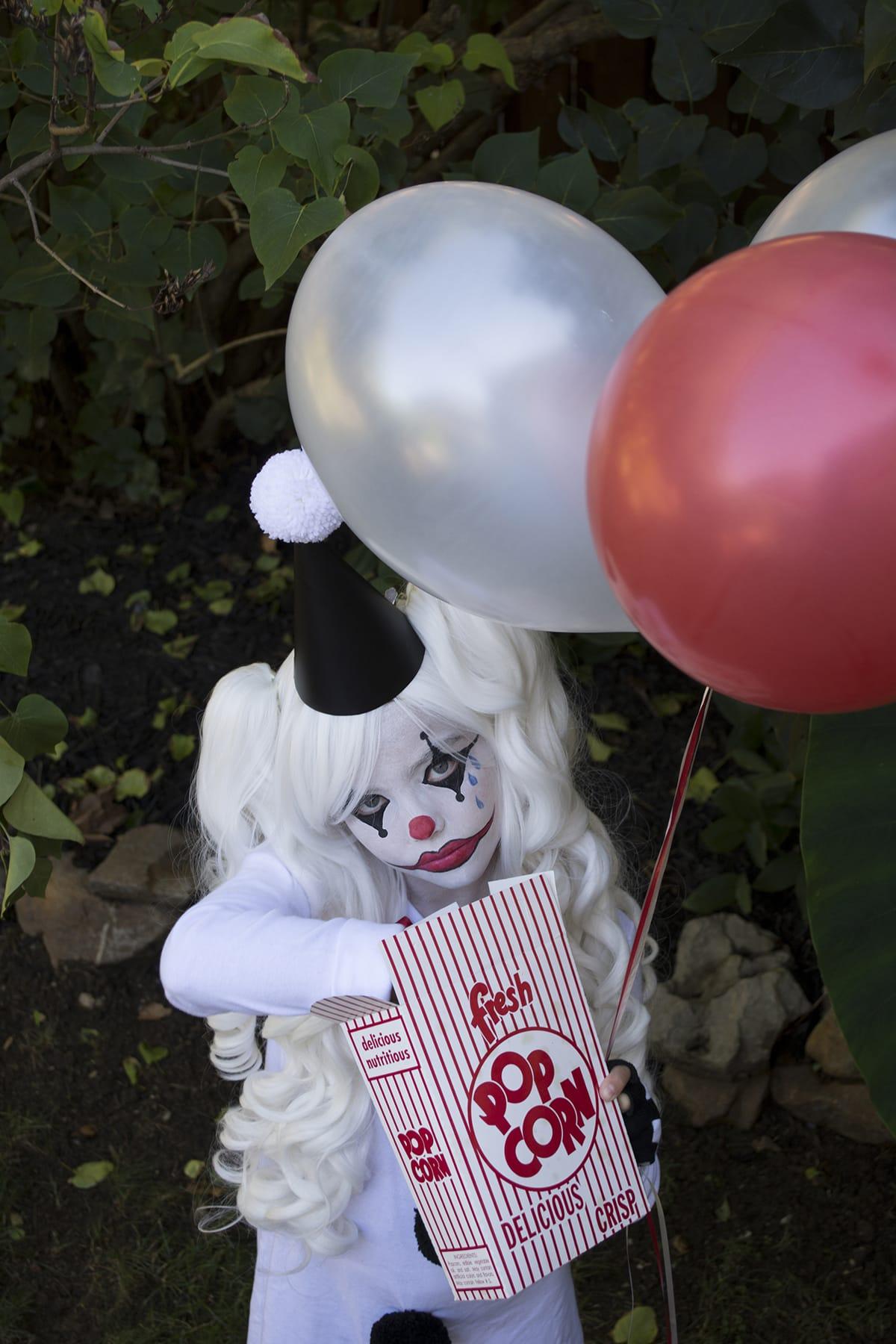 Easy and unique sad clown costume