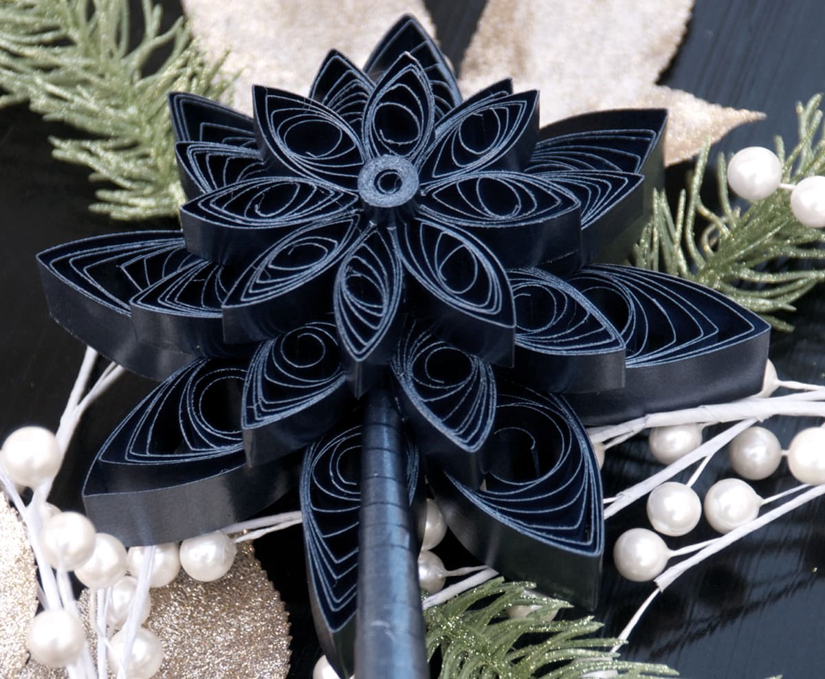 quilled tree toppers