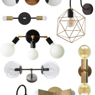 Unusual, stylish and unique handmade vanity lighting on Etsy