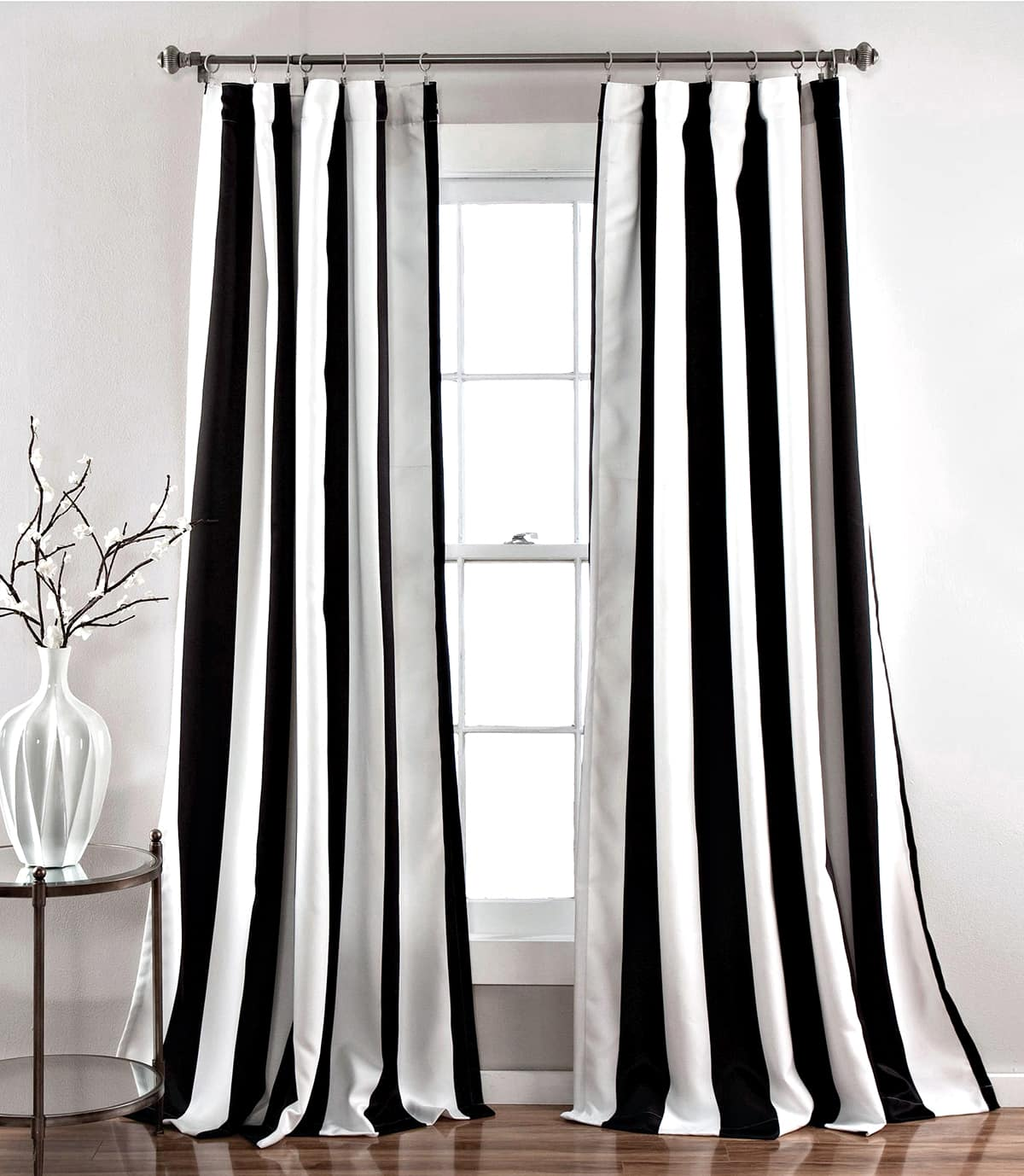 Black and white curtains - My favorite black and white curtains
