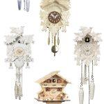 my favorite light colored cuckoo clocks