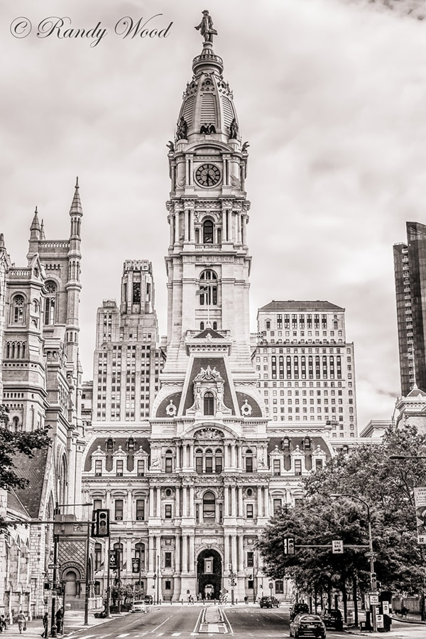 Philadelphia town hall