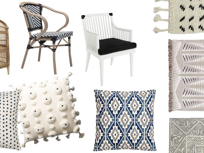 Friday Favorites: rugs, chairs and pillows
