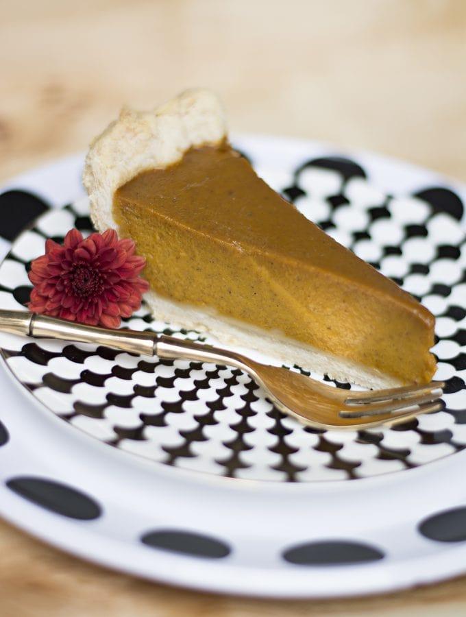best pumpkin pie with fresh pumpkin, gluten-free version included