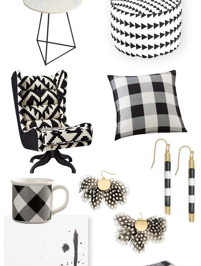 Friday Favorites: more black and white goodies