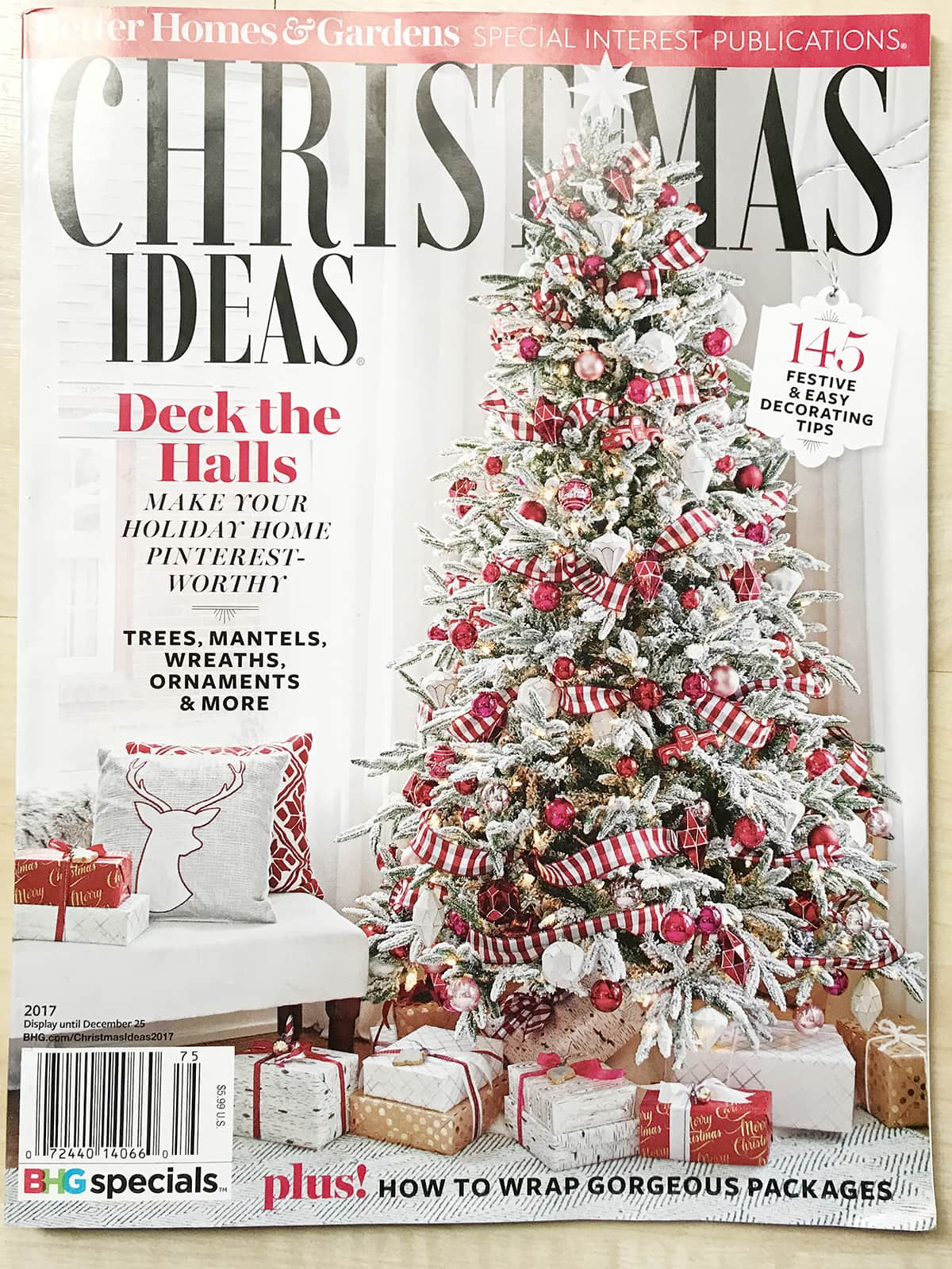 Better homes and gardens stylemaker and christmas ideas Better homes and gardens christmas special