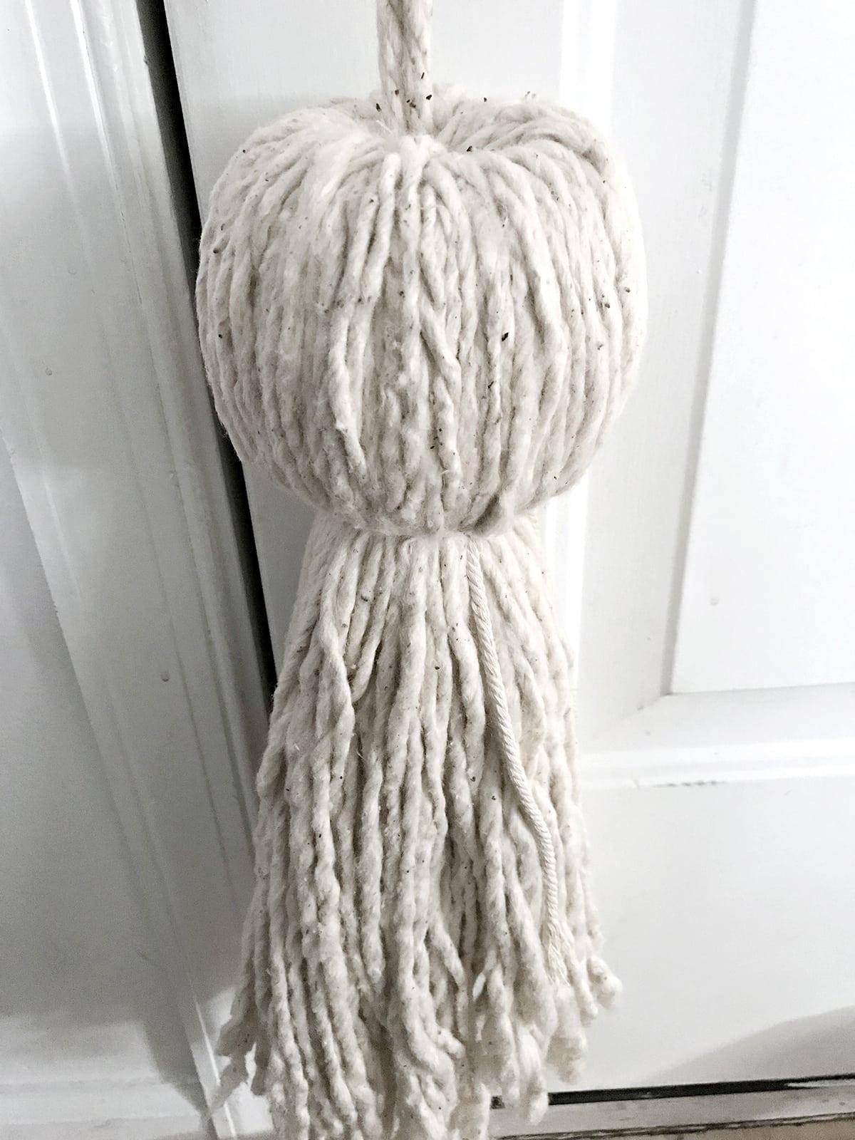 mop head needed to make a huge stylish tassel